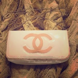 Handbags - Chanel VIP Crossbody Patent Leather Purse